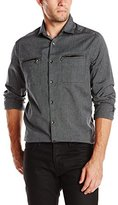 Kenneth Cole New York Kenneth Cole Men's Ls New Shirt Jacket