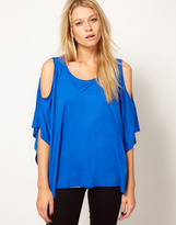 Asos Top with Oversize Cold Shoulder