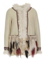 Bazar Deluxe Leather And Fur Coat