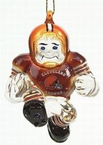 "Evergreen Cleveland Browns 3"" Crystal Halfback Ornament"