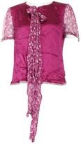 Dolce & Gabbana Pink Silk Top for Women