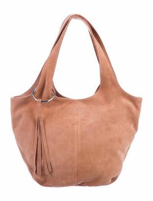 Elizabeth and James Suede Shoulder Bag Pink