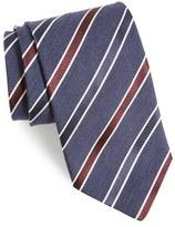Eton Men's Stripe Silk & Wool Tie