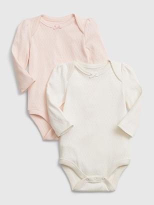 Gap Baby Organic Bodysuit (2-Pack)