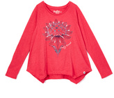Lucky Brand Bright Rose Graphic Tee - Toddler & Girls