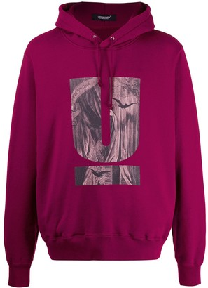 Undercover Graphic-Print Hoodie