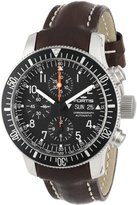 Fortis Men's 638.10.11 L.16 B-42 Official Cosmonauts Brown Automatic Chronograph Date Rubber Watch