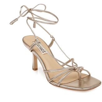 Badgley Mischka Jovial Leather Strappy Sandal