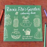 Flos Rosie Flo's colouring books Rosie Flo's Garden Colouring Book