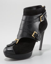 Alexander McQueen Ankle Boot with Removable Harness