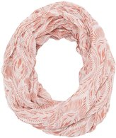 Charlotte Russe Printed Woven Infinity Scarf