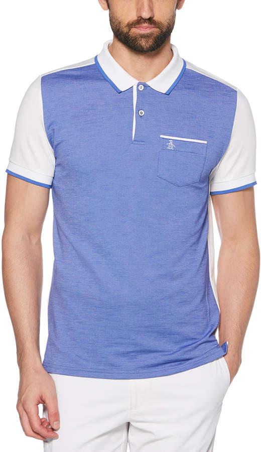 a1a05193fd Penguin Cotton Short Sleeve Pocket Polo - ShopStyle