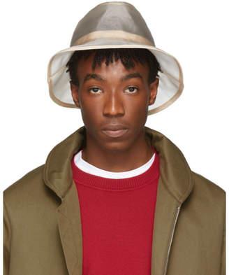 Fendi Beige Micro Mesh Bucket Hat