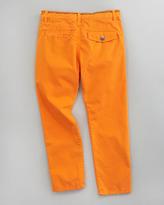 Paul Smith Drice Flat-Front Pants, Sizes 2-6