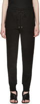 3.1 Phillip Lim Black French Terry Lounge Pants