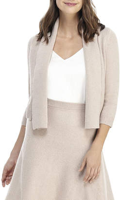 Gal Meets Glam Sparkle Open-Front Cardigan