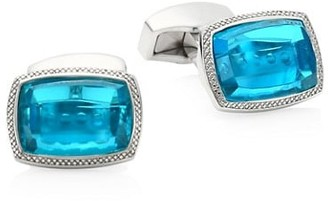 Tateossian Neon Quartz Cufflinks