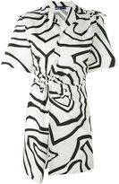 Emilio Pucci knotted print dress