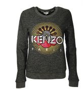 Kenzo Grey Paris Sweater