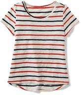 Old Navy Printed Scoop-Neck Swing Tee for Girls