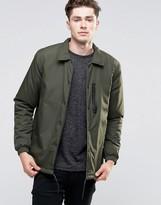Brave Soul Nylon Button Through Jacket