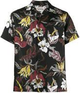 Wacko Maria floral hawaiian print shirt