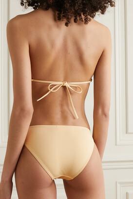 Eres Lande Embellished Bikini Briefs - Yellow