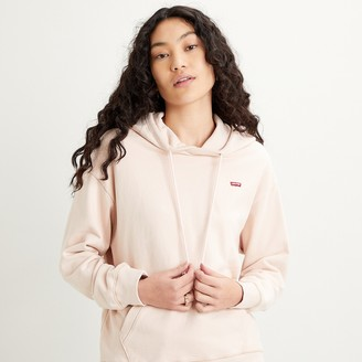 Levi's Cotton Hoodie with Pocket Detail