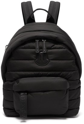 Moncler Padded Backpack - Mens - Black