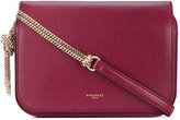 Nina Ricci flap chain shoulder bag - women - Cotton/Leather - One Size