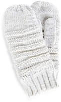 Sole Society Knit Ribbed Mittens