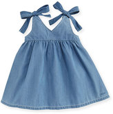Chloé Denim Effect Sleeveless Dress, Size 2-3