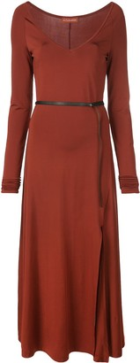 Altuzarra Phoebe wide V-neck dress