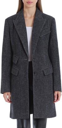 AVEC LES FILLES Twill Topper Coat