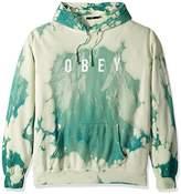 Obey Men's Anyway Tie Dye Hooded Sweatshirt