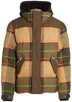 Mackage Riley Plaid Down-Filled Puffer Jacket
