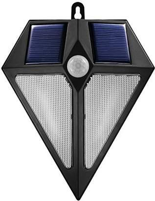 Maclean MCE168 LED Solar Powered Lamp Dimmer Movement Sensor Solar Lights Outdoor Lighting Quality