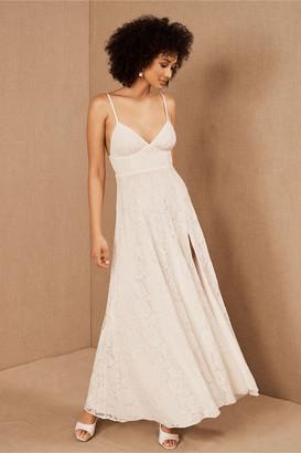 Fame & Partners Charlotte V-Neck Lace Dress