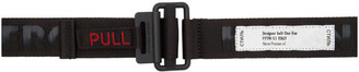 Heron Preston Black Treatment Tape Belt
