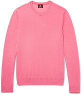 Paul Smith Contrast-Tipped Merino Wool Sweater