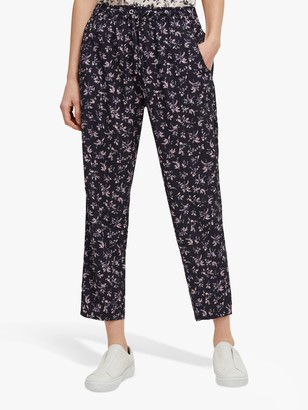 French Connection Felicienne Jogger Trousers, Navy Multi