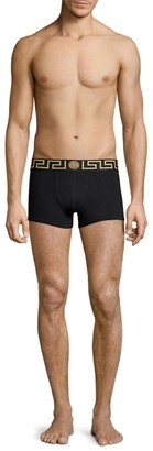 Versace Stretch Cotton Low-Rise Trunks