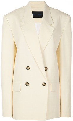 Proenza Schouler Oversized Double Breasted Blazer