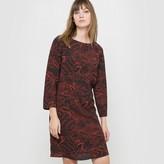 R studio Printed Shift Dress