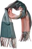 Woogwin Womens Big Grid Winter Warm Lattice Large Scarf Stylish Plaid Blanket Long Shawl Wrap