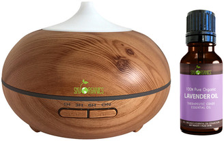 Sky Organics Soothe & Relax Lavender Aromatherapy Set