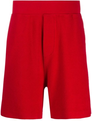 DSQUARED2 Textured Track Shorts