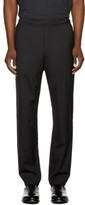 Oamc Black Drawcord Trousers