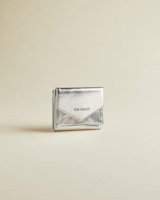 Ted Baker GRACIEY Metallic bifold envelope purse