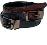 Geoffrey Beene Men's 83955 Leather Reversible Belt, )